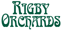 Rigby Orchards logo